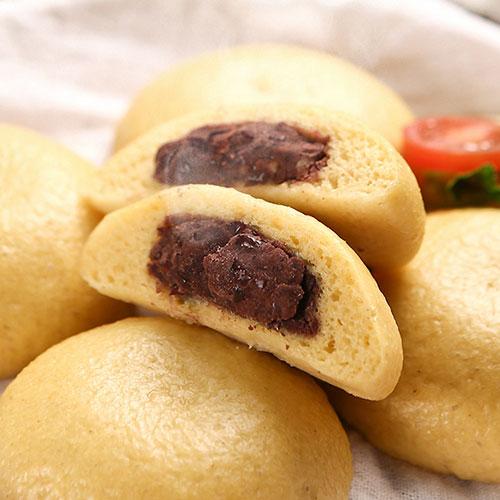 [안흥찐빵마을] 우리밀우리팥 수제 단호박찐빵 (500g/10입)*3봉이식사