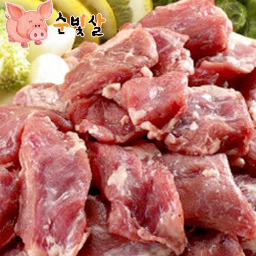 [순빛살] 구룡농장 무항생제 돼지 갈매기살1kg(fresh)이식사