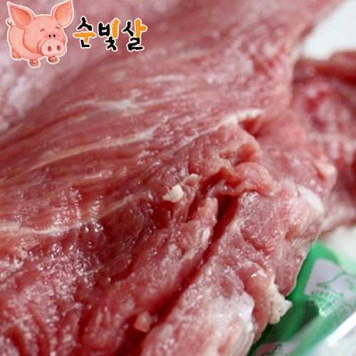[순빛살] 구룡농장 무항생제 돼지 안심장조림2kg(fresh)이식사