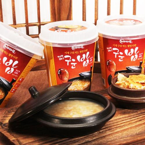 [라이스웰] 100%국내산 쌀로만든 구운밥 즉석누룽지 40g×10봉 / 20봉 이미지
