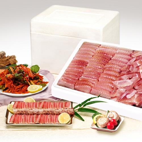 [목포 부영수산] 칠레산 홍어 3.5kg / 옵션:약한숙성,중간숙성,강한숙성이식사