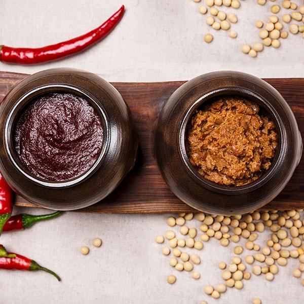 [순창 전통고추장 전수자가 우리농산물로 만든] 순창명인 찹쌀고추장 1kg+우리콩 조선된장 1kg이식사