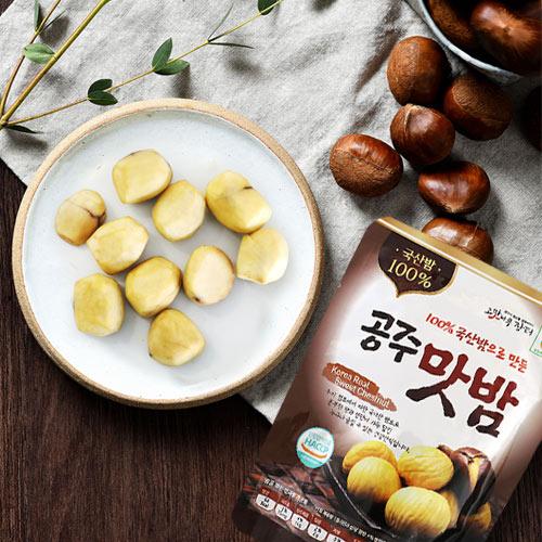 [100%국산밤으로 만든] 달콤영양가득 공주맛밤 50g*10봉이식사