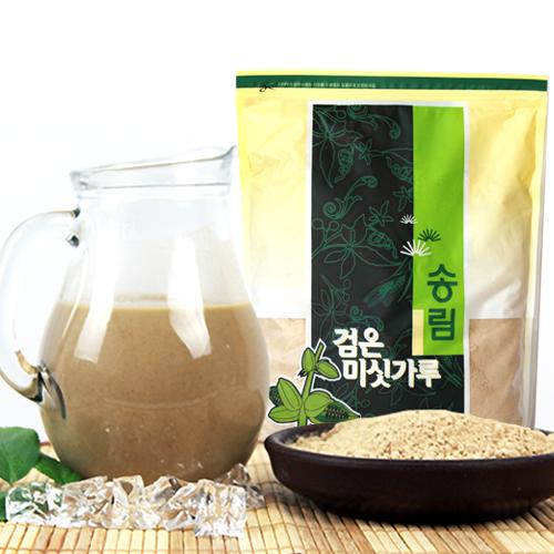 [엄선된 재료만을 사용한] 13가지 검은미숫가루 1kg이식사