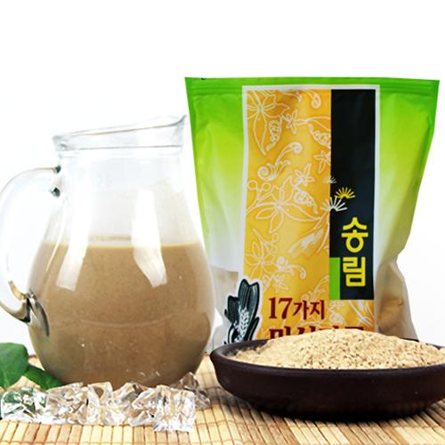 [엄선된 재료만을 사용한] 17가지 미숫가루 2kg/1kg*2팩이식사