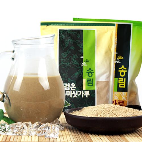 [엄선된 재료만을 사용한] 17가지 미숫가루 1kg+13가지 검은미숫가루 1kg이식사