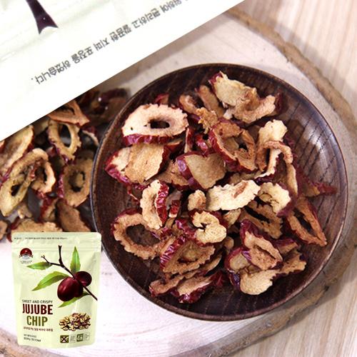 [충북보은] 과자처럼 먹는 달콤바사삭 대추칩 80g*5봉이식사