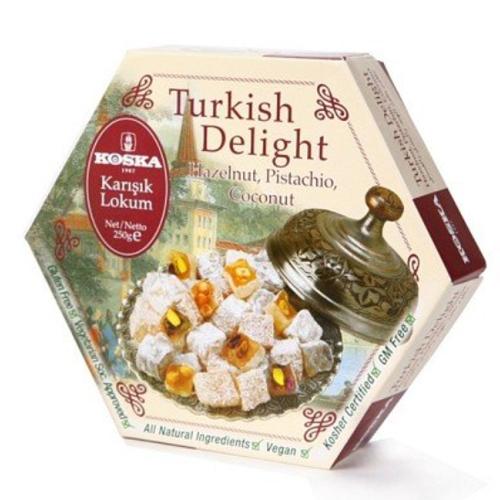 [KOSKA] 터키쉬딜라이트 믹스넛 250g*2개이식사