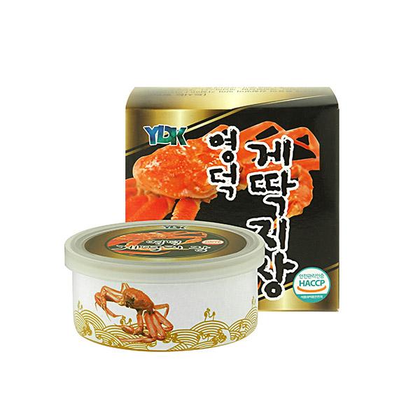 [SEAFOOD] 바다가득 영덕 게딱지장 90g*3캔이식사