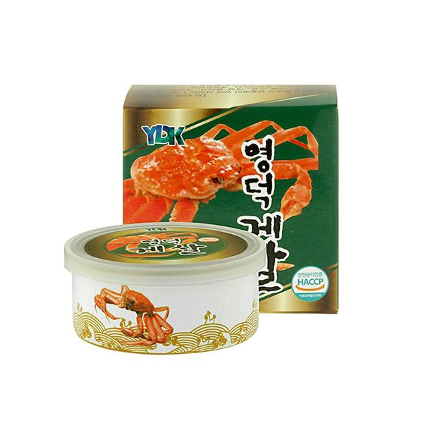 [SEAFOOD] 바다가득 영덕 게살 90g×3캔 이미지