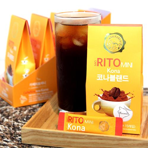 [CAFE RITO] 미니 코나 블랜드 10g(1g*10개입)*10개이식사