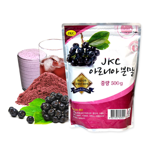 [JKC] 슈퍼푸드 국내산 100% 아로니아 분말 500g이식사