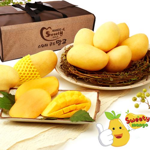 Sweety Mango 필리핀 열대과일 카라바오 망고세트 7호