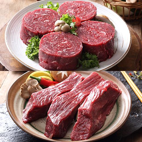 [정남진 장흥한牛] 장흥한우 불고기용 500g+국거리용 500g / (1등급이상)이식사