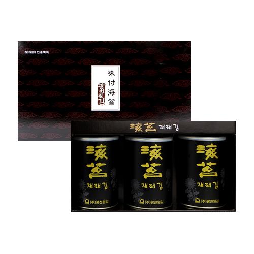 광천원김 40년전통! 프리미엄 재래김캔 3P 선물세트