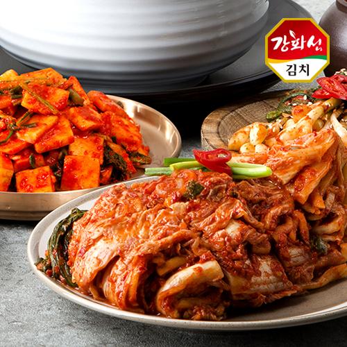 [강화특산물] 강화섬 포기김치 2kg+순무김치 2kg이식사
