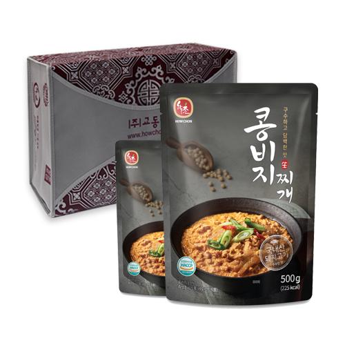 하우촌 구수하고 담백한 맛 콩비지찌개 선물세트