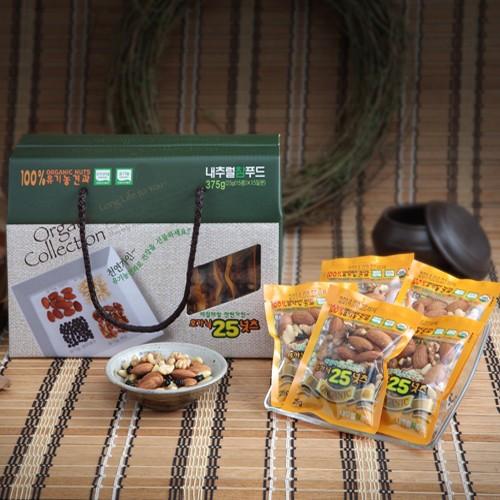 유기농 친환경먹거리 유기농 한줌 견과선물세트 1호