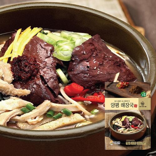 [선봉식품] 자연깃든 양평해장국 600g*6팩이식사