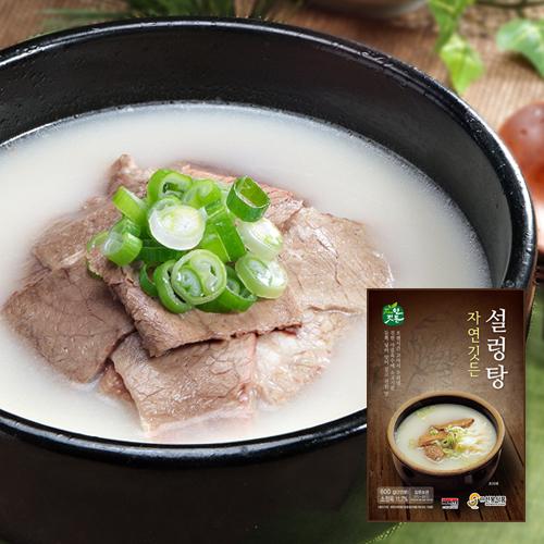 [선봉식품] 자연깃든 설렁탕 600g*6팩이식사