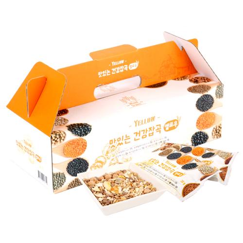 [하루잡곡] 밥할때 한봉씩! 씻어나온 맛있는 건강잡곡(옐로우) 3box(30g*60봉)이식사