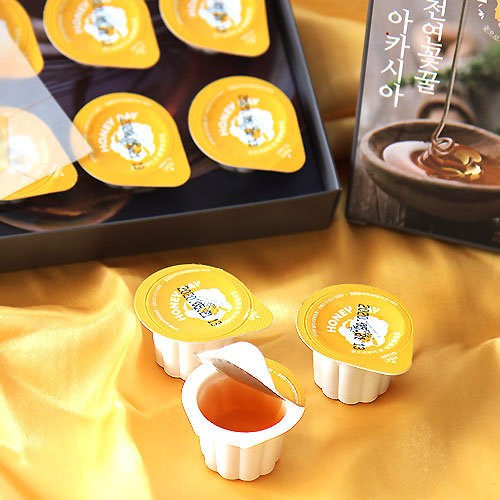 [한국양봉농협] 아카시아 천연꽃꿀 60g(20g*3개입)*3박스이식사