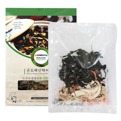 [바로COOK] 누구나 쉽게 만들어먹는 건나물밥(곤드레산채비빔밥) 25g*10팩이식사