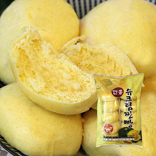 [안흥찐빵마을] 수제 슈크림찐빵 500g(10입)*3봉이식사