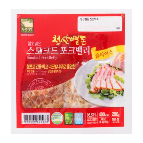 [청산별돈] 30년 전통 스모크드 포크밸리 200g*7팩이식사