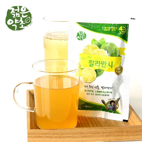 [젊은약초] 헤이리 약초아저씨의 깔라만시즙 100ml*30포X3박스이식사