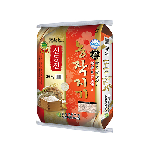 [전북부안] 2017년 행복한 밥상 농작지기 신동진미 20kg이식사