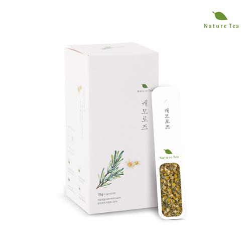 [Nature tea] 간편하게 품위있는 허브차! 캐모로즈 차 10g(1g*10개입)이식사