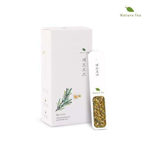 [Nature tea] 간편하게 품위있는 허브차! 캐모로즈 차 5g(1g*5개입)이식사
