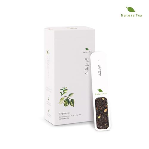 [Nature tea] 간편하게 품위있는 허브차! 얼그레이 차 7.5g(1.5g*5개입)이식사