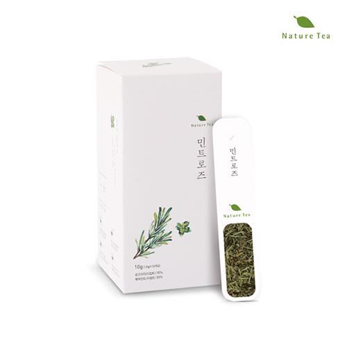 [Nature tea] 간편하게 품위있는 허브차! 민트로즈 차 10g(1g*10개입)이식사