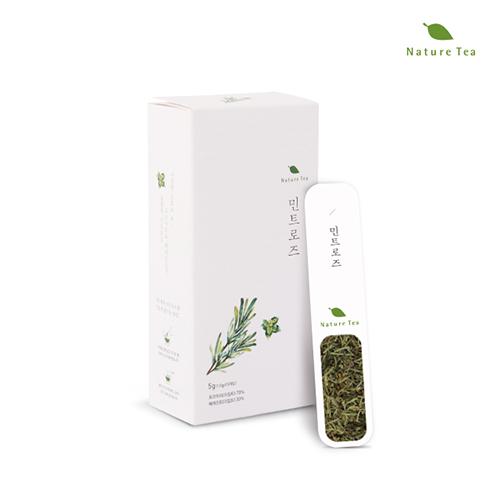 [Nature tea] 간편하게 품위있는 허브차! 민트로즈 차 5g(1g*5개입)이식사
