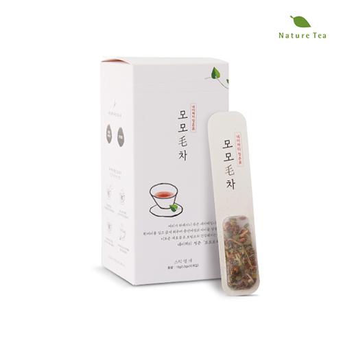 [Nature tea] 내몸에 활기찬 에너지! 모모毛차 15g(1.5g*10개입)이식사