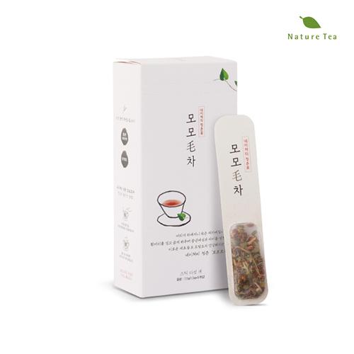 [Nature tea] 내몸에 활기찬 에너지! 모모毛차 7.5g(1.5g*5개입)이식사