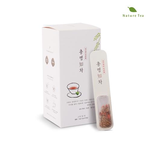 [Nature tea] 집중력을 배가시키는 똑똑한 총명知차 15g(1/5g*10개입)이식사