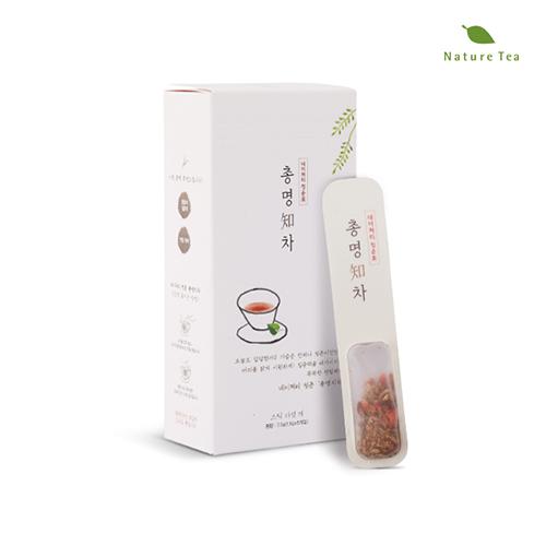 [Nature tea] 집중력을 배가시키는 똑똑한 총명知차 7.5g(1.5g*5개입)이식사
