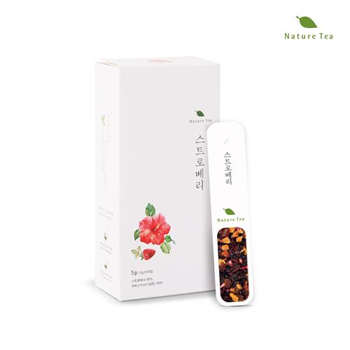 [Nature tea] 간편하게 품위있는 허브차! 스트로베리 차 5g(1g*5개입)이식사