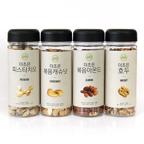 [the good Foods] 더조은 견과류 4종세트(아몬드,호두,피스타치오,캐슈넛) / 250g,150g,200g,230g이식사